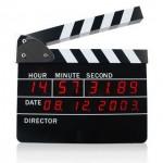 Clap tournage cinéma
