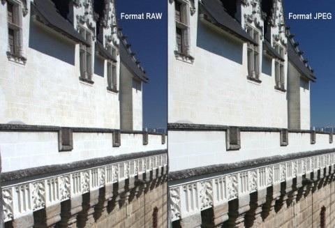 Image RAW et JPEG