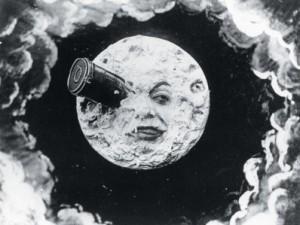 Voyage dans la lune de G. Méliès en 1902