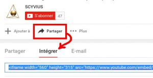 Intégrer l'affichage vidéo de Youtube dans votre site web