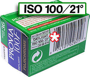 Sensibilité ISO