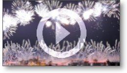 Captation vidéo du feu d'artifice du 14 Juillet 2019 à Carcassonne.