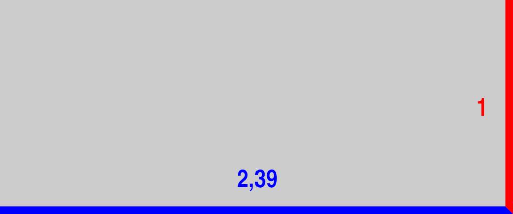 Rapports de cadre 2,39:1