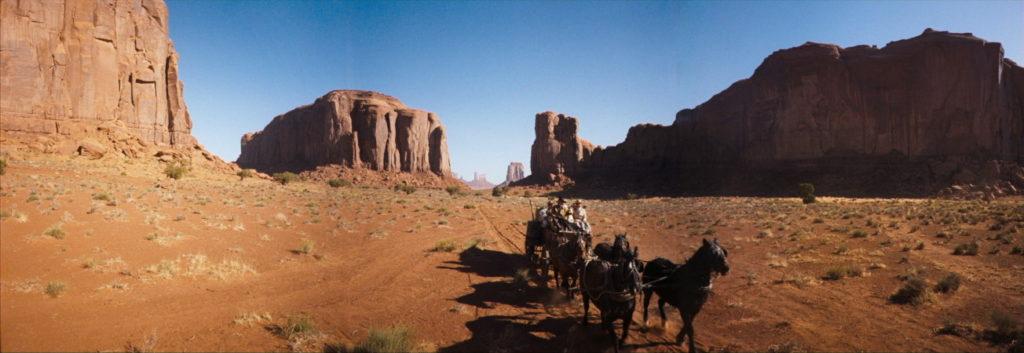Western en format cinérama 3:1 - La Conquête de l'Ouest, 1962