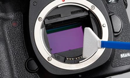 Palette pour nettoyage du capteur photo/vidéo