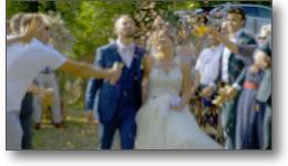Réalisation d'un film vidéo de mariage dans le Tarn.