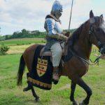 Tournage chevalier en armure