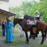 Tournage chevaliers en armures